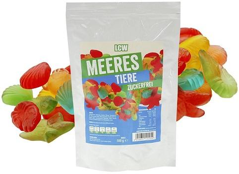 Süßigkeiten Low Carb Gummibären
