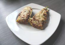 Low Carb Hackfleisch Zucchinischiffchen