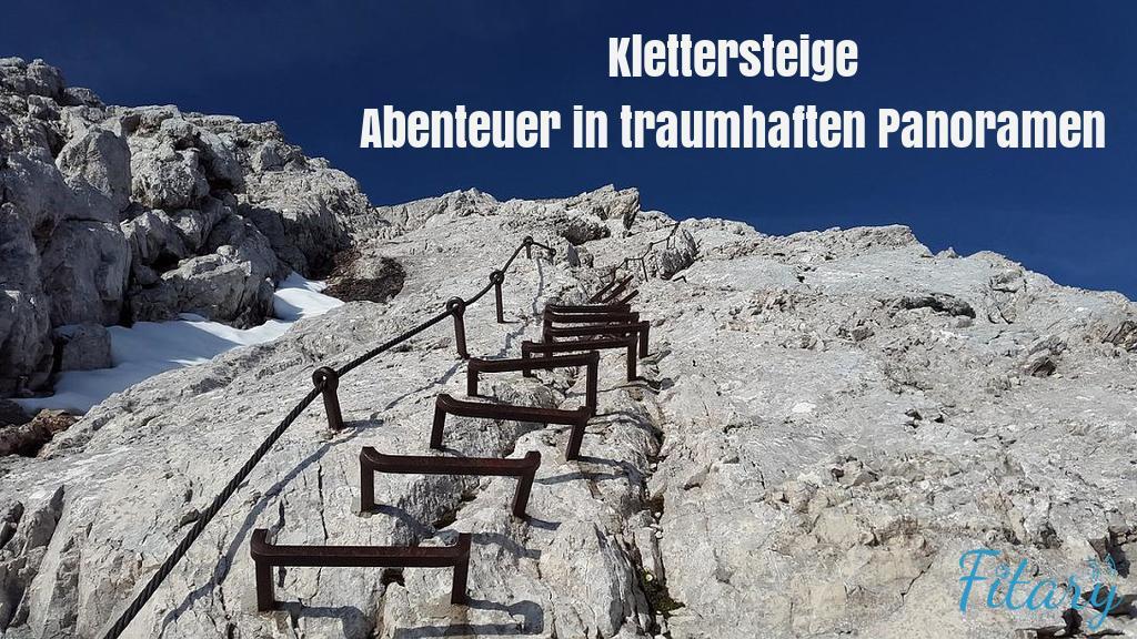 Klettersteig Leiter : Klettersteige abenteuer in traumhaften panoramen