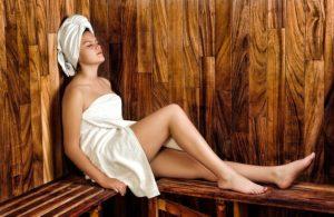 Sauna, diät und Abnehmlügen