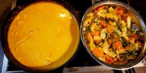 Thai Curry Zubereitung