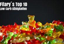 Süßigkeiten, Gummibären, Low-Carb, Low Carb