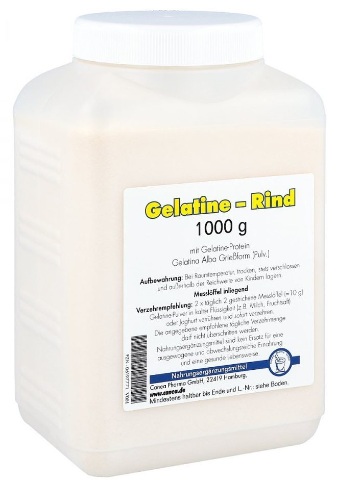 Kollagenes Protein Kollagenprotein Gelatine Supplement