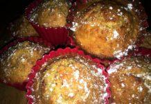 Fitness Muffins mit Karotte