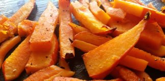 Kürbispommes Rezept Low Carb