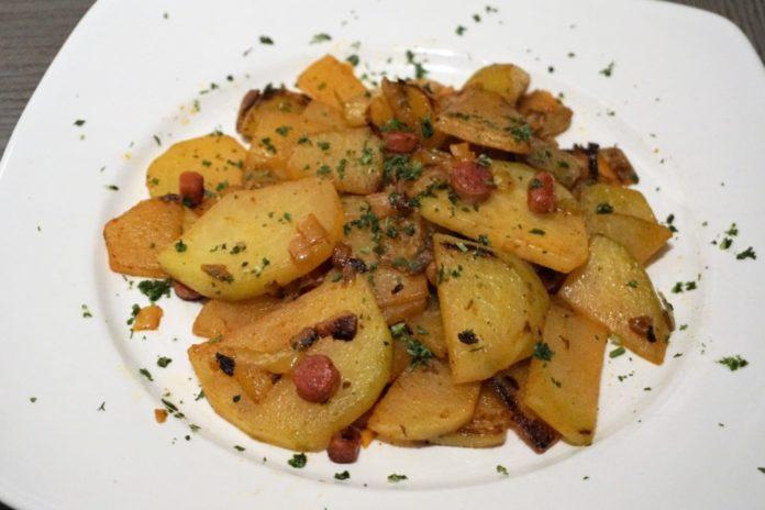 Low Carb Bratkartoffeln aus Kohlrabi