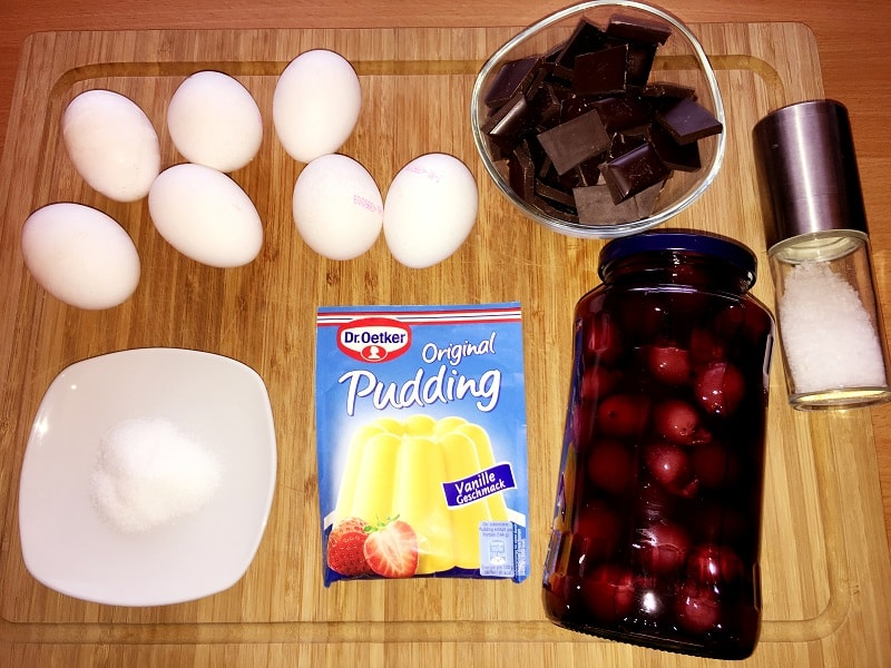 Schokoladenkuchen Zutaten ohne Mehl