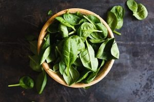 5 gesunde Lebensmittel Spinat