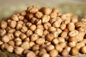 Kichererbsen Proteinhaltiger Snack