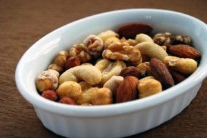 Nussmischung, vegane Proteinquelle , vegane Eiweißquelle