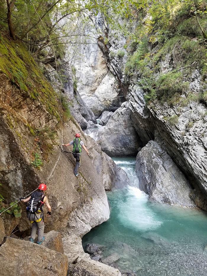 Pirknerklamm Klettersteig Lienz