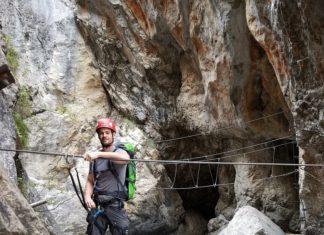 Erlebnisklettersteig Pirknerklamm, Pirknerklamm Klettersteig, Klettersteig Lienz