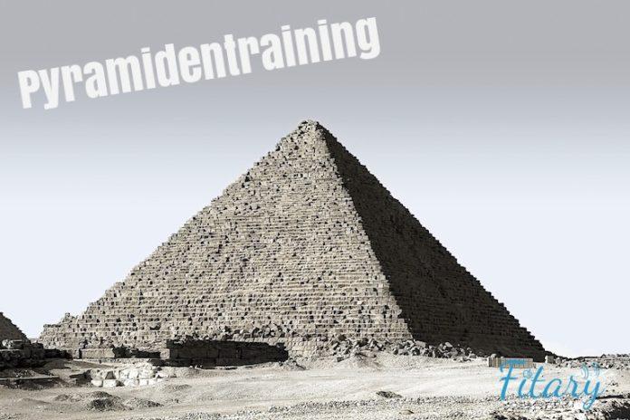 Pyramide, Pyramidentraining, Muskelaufbau, Kraftzuwachs, Kraftausdauer