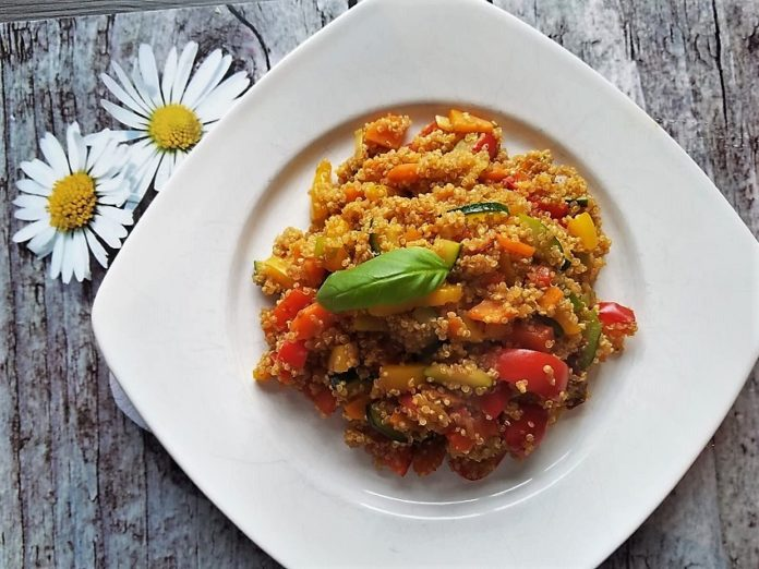 vegane Ernährung, vegane Proteinquelle, veganes Rezept
