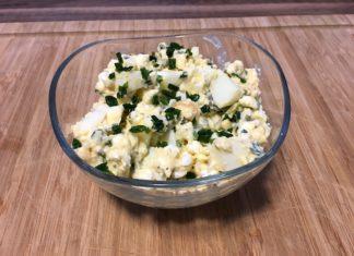 Fitness Eiersalat ohne Mayonnaise - Leicht und lecker