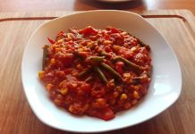 Zutaten für Veganes Chili sin Carne