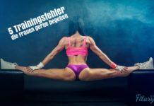 Trainingsfehler im Frauenfitness
