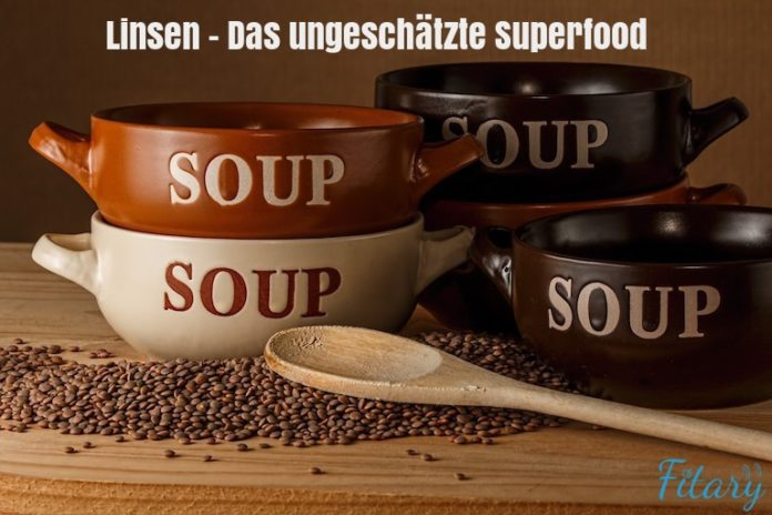 Linsen - Superfood, Low Carb Diät