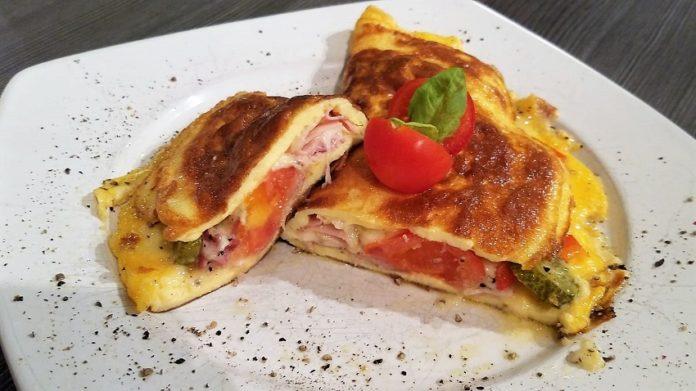 Fitness Omelett Rezept, Omelett selber machen