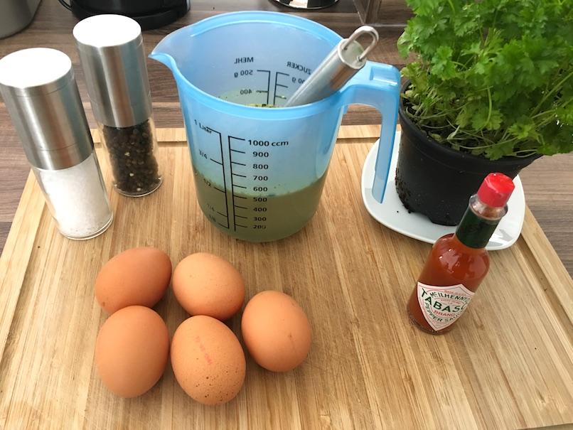 Zutaten für unsere Protein Suppe - Leckere Fitnesssuppe