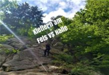 Klettern am Fels vs Halle