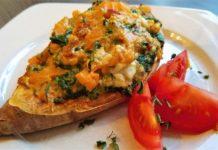 Fitness Süßkartoffel, Süßkartoffel Schiffchen