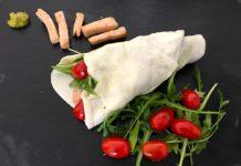 Mozzarella Wrap - Leckerer Low Carb Wrap