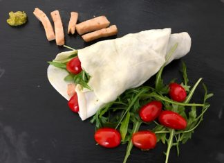Mozzarella Wrap - Leckerer Low Carb Wrap
