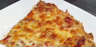 Thunfischboden Pizza, Eiweißbombe, Proteinreich