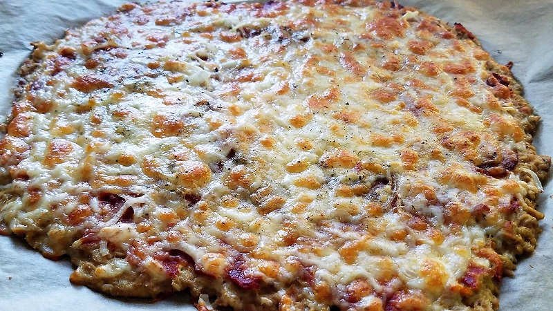 Thunfisch Pizza