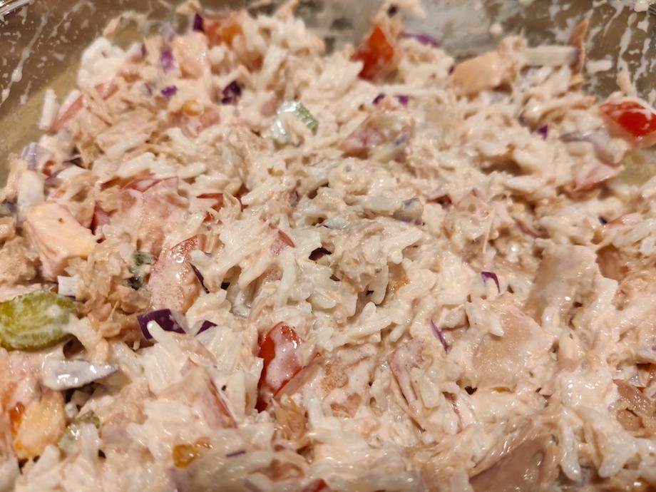 Thunfischsalat mit Reis