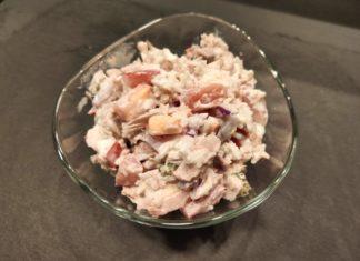 Proteinreicher Thunfischsalat mit Reis
