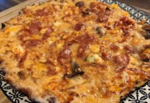 Low Carb Eier Pizza