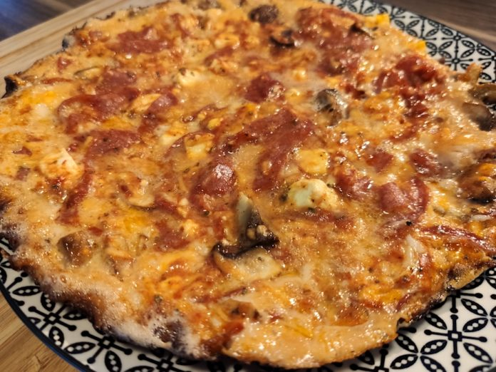 Low Carb Eier Pizza