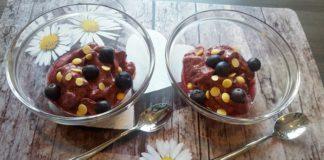 Frozen Joghurt, Frozen Joghurt selber machen, Frozen Blaubeerjoghurt