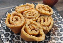 Skyr Pfannkuchen mit Zimt und Xucker