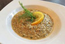 Brokkoli Fenchel Suppe mit Cashewkernen